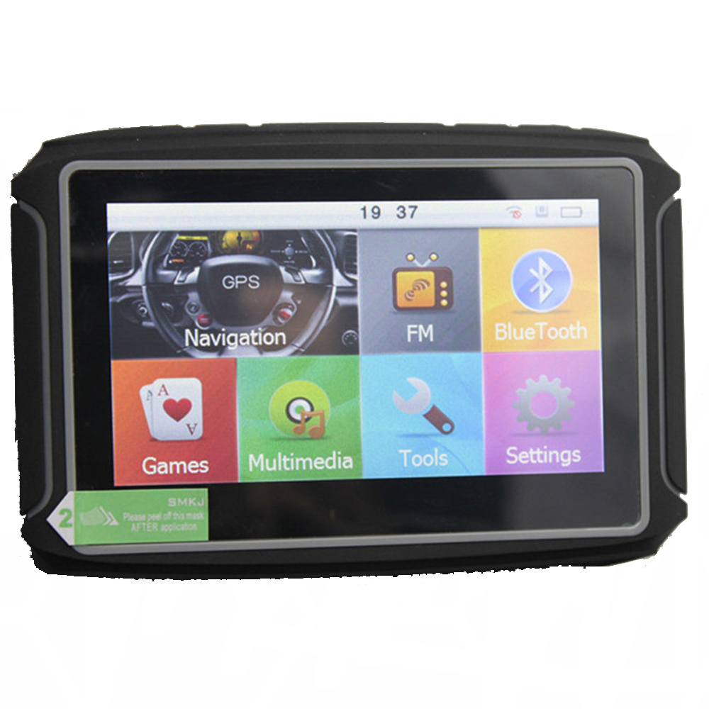 Touchscreen Waterproof IPX7 GPS 256MB 8GB Free Map Motorcycle Bike Navigation