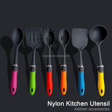 As Seen On TV Nylon Silicone Spatula Kitchenware Kitchen Accessories Tool Set Utensil