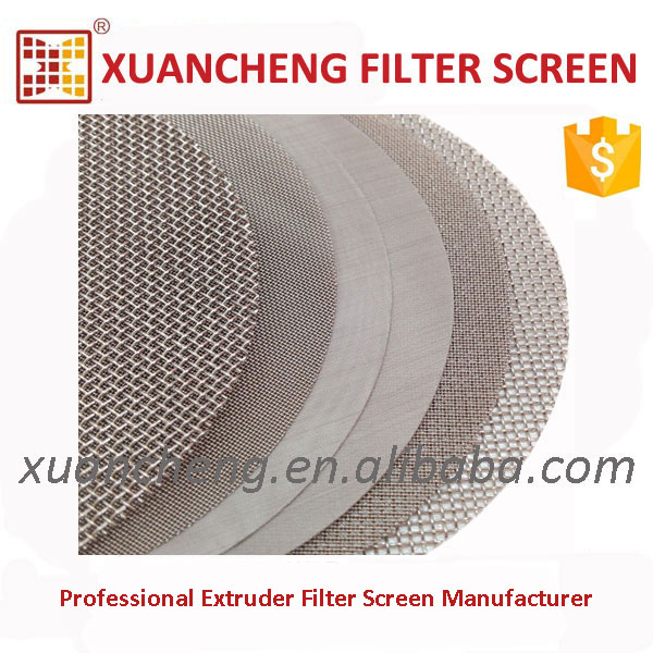 PC Engineering Plastics Use Metal Knitted Wire Mesh
