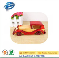 Creative gifts vintage small wood model cars wooden classic car model