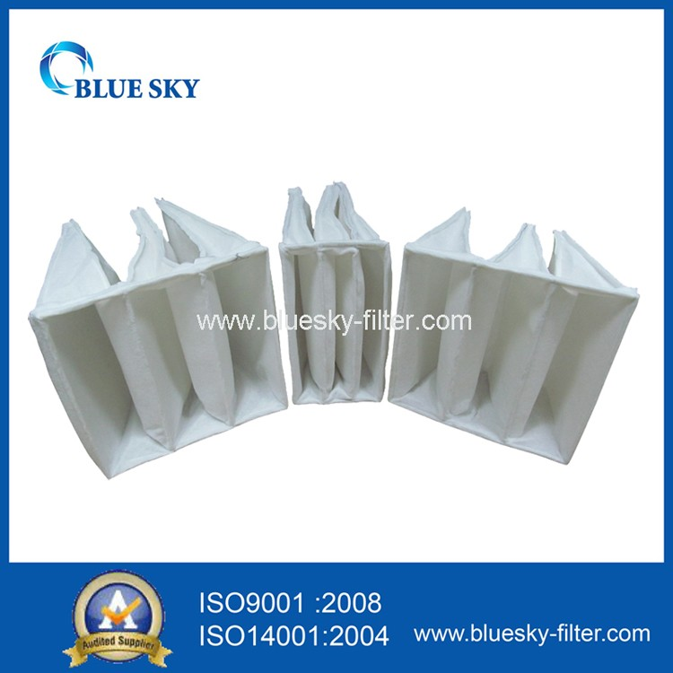 HVAC Nonwoven Pocket Bag Filter of F5 Efficiency