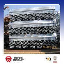 low carbon steel pipe scaffold galvanize pipe 6 meter 48.3mm