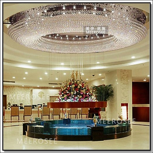 Round Hotel Extra Large Crystal Chandelier MD3385