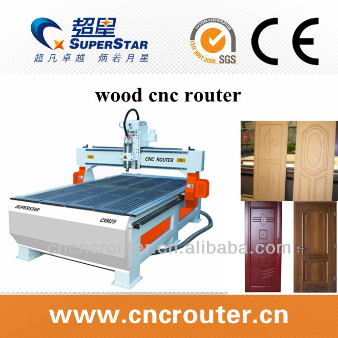 Superstar High Configuration CXM25 Wood Carving CNC Router