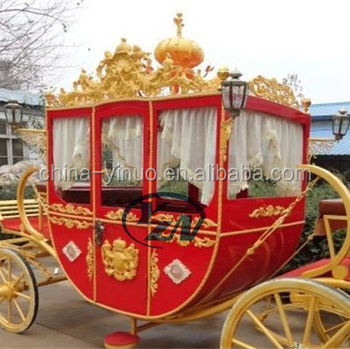 Western royal horse carriage for wedding, hotels, shows, events wagon
