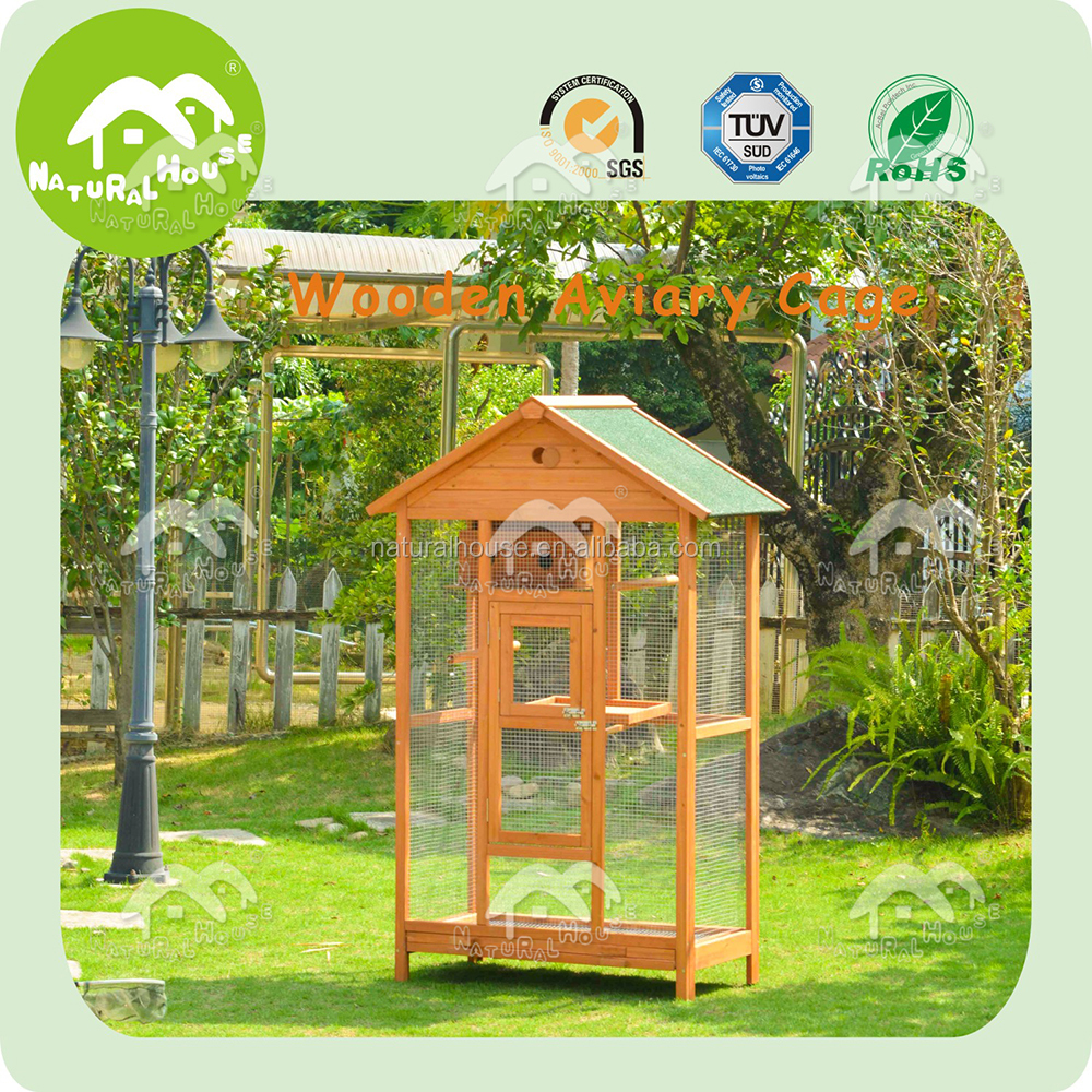 bird cage wooden bird cage outdoor wooden bird cage,pet products