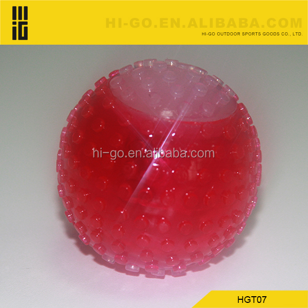 pet products eco-friendly novelty led jumping dog ball