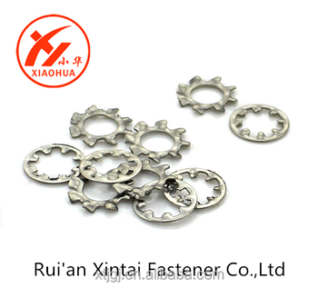 Competitive Price Quality Carbon Steel Galvanized Lock Washers,External Tooth Lock Washers