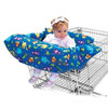 RH-CH001-03 Blue Zoo Baby Seat Cotton Cover Shopping Trolley Cover