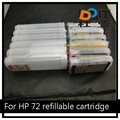 for HP 72 compatible ink cartridge price,printer cartridge for HP T610 T620 T770 T790 T1100 T1120 T1200 T1300 T2300
