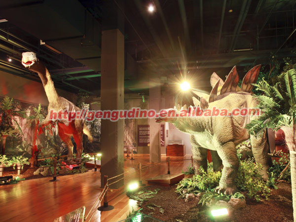 Science dinosaur museum theme park decorations buy for Amusement park decoration ideas