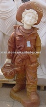 Pink kid statues wholesale