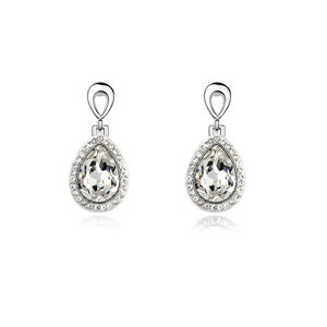 E10301 Fashion white gold plated earring charms jewelry wholesale