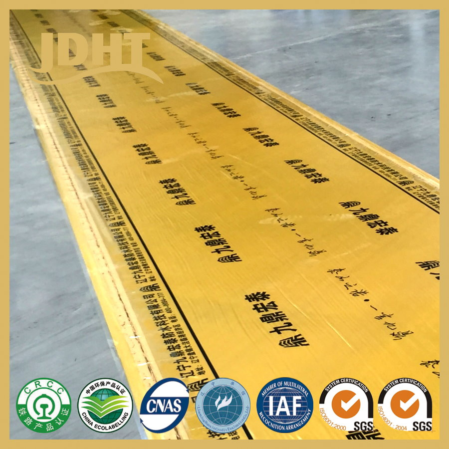 DNM Non asphalt base polymer self-adhesive membrane Waterproof materials supplier