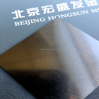 Vacuous Titanium coated stainless steel sheets in black color
