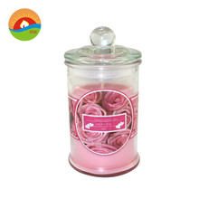 Personalizado de Soja Scented Candle in glass jar