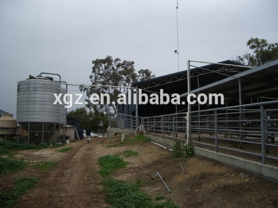 Advanced Automated Steel Structure Cattle Ranch In Australia