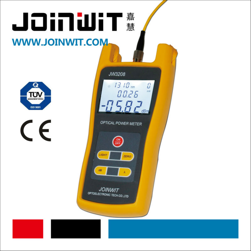 JOINWIT,JW3208,Alkaline Battery for power supply,optic power meter,power usage meter
