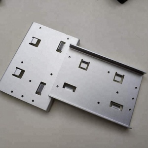 China supplier provide aluminium electronic product back panel by punching process