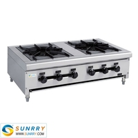 Best Quality 2 Industrial Gas Stove Baltur Burner Made Of Stainless Steel (SUNRRY SY-GB2T)