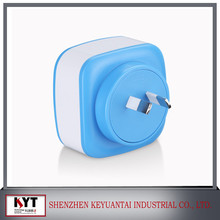 Good Interchangeable Plugs Travel Usb Charger , usb wall Charger For Mobile phone, Tablet, MP3/MP4 Player, Laptop, Camera