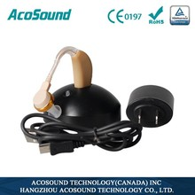 BTE rechargeable hearing aid voice amplifier chinese healthcare supply