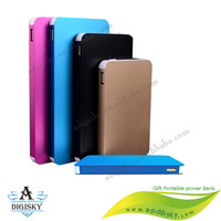 portable travel mobile phone charger power banks 8000mah