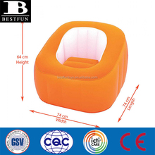 Plastic foldable Cheap college dorms Bubble inflatable couch corner relaxing fold up double sofa