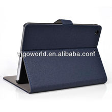 "Book Folio Stand for 9.7"" Apple iPad Air smart case with Auto Wake / Sleep Feature - navy blue"