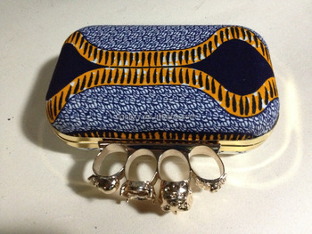 clutch bags made with african print or wax fabric