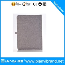NEW!! Custom diary PU leather powerbank notebook with USB
