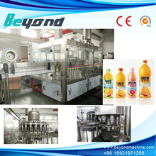 Convenient conobloc Rinsing, Filling, Sealing soft drink filling machine