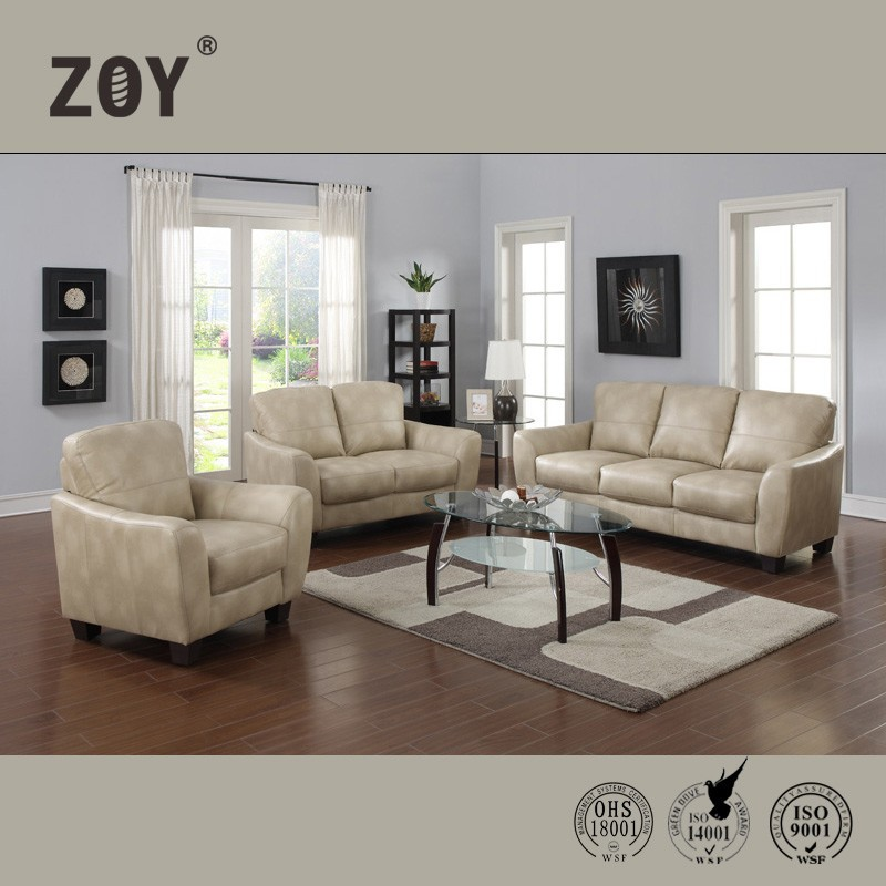 Cheap Modern Synthect Leather Comfotable Sectional Sofa Zoy-81520