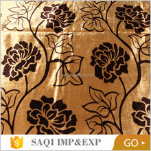 Competitive price Cheap price For curtain velvet fabric foam back