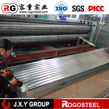 hot sell prime curve corrugated galvanized iron sheet for roofing