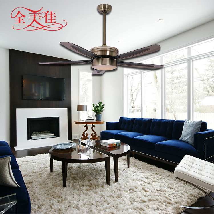 Remote Control 56 Inch Led Light Ceiling Fan