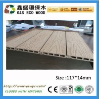 newteck G&S 2015 New Design ! Water resistant wood plastic composite wpc wall panel/wpc wall cladding