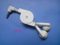 portable retractable cable and earphone retractable ear buds