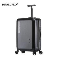 New Design ABS and PC trolley luggage/case hard case luggage bags