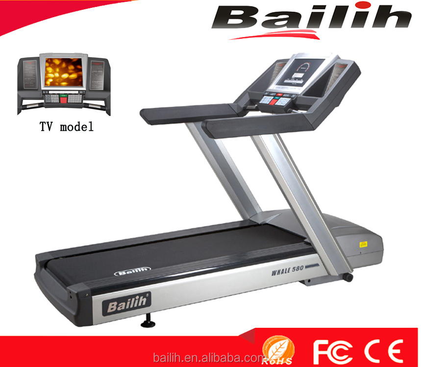 Good Quality Professional Indoor Treadmill 580TV Bailih Fitness Equipment