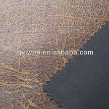Metallic suede fabric tc bonding crushed print african fabric for furniture upholstery, sofa fabric, bag fabric