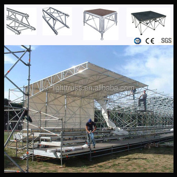 Aluminum truss trade show booth aluminum roof truss with high quality available in various sizes