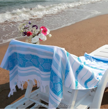 Buy Direct From China Manufacturer Striped Turkish Peshtemal 100% Cotton Woven Large Beach Towel For Travel