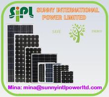 High efficiency china manufacturer 200w (solar) energy panels solar system with 250W Monocrystalline price per watt solar panels
