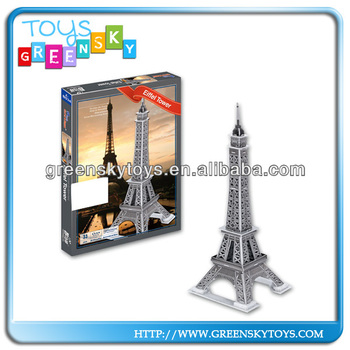 Hot Selling The France Eiffel Tower Model DIY Toys