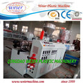 PVC squar pipe making extruder machine