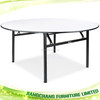 Commercial Indoor Event Foldable Round Banquet Table