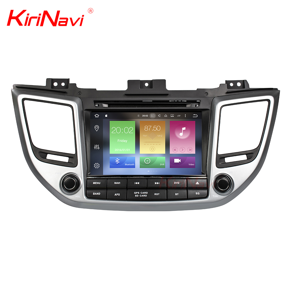 KiriNavi WC-HI8085 8 core android 6.0 stereo for hyundai ix35 car dvd gps navigation 2016 2017 gps BT 3g TV