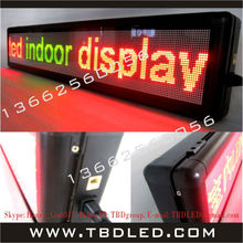 32 dots double color Korean indoor led message display