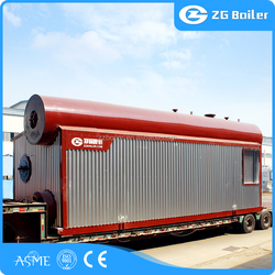 China gold manufacturer oil gas steam boiler equipment cost